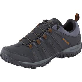 Columbia Peakfreak Woodburn II kengät Miehet, black / goldenrod